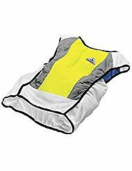 TechNiche International HyperKewl Cooling Ultra Sports Vest Hi Viz Lime Large