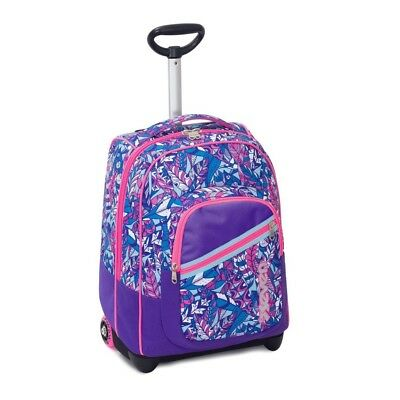 Trolley SEVEN Fit Girl BUTTERFLY 35 Lt 2in1 Zaino con spallacci a scomparsa V...