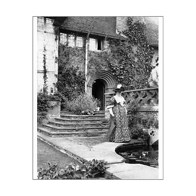 "10""x8"" (25x20cm) Print of Gertrude Jekyll c.1901 OP01502 from"