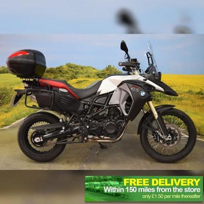 BMW F 800 GS Adventure 2015 ** TOP BOX, ENGINE BARS, ONE OWNER **