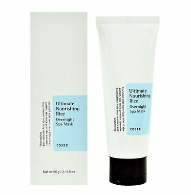 COSRX Ultimate Nourishing Rice Overnight Spa Masks 60ml [Made in Korea]