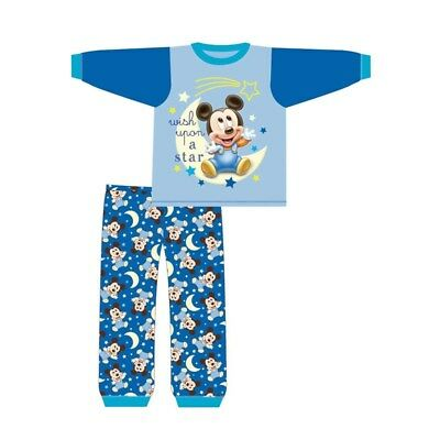 jm Boys Pyjamas Mickey Mouse Toddler Pjs 6 Months to 24 Months