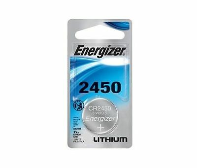 Super Fresh New Energizer CR 2450 ECR 2450 3v LITHIUM Coin Cell Battery