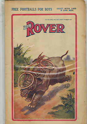 ROVER COMIC - No. 626 from 1934