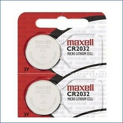 2 Maxell CR2032 ECR 2032 Battery 3V Sealed Authorized seller. Exp. 2025