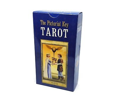 The Pictorial Key Tarot English and Russian Instruction 78 Cards HALLOWEEN GIFT