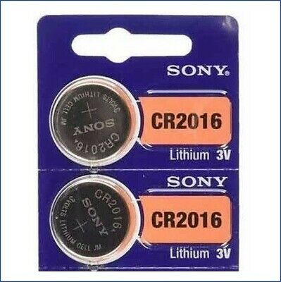 2 FRESH SONY CR2016 Lithium Battery 3V Exp 2028 Coin Cell Battery USA Seller