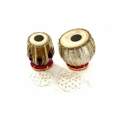 Percussion Plus - PP1101 Tabla PairThong Tension incl. carry bag & Seat rings