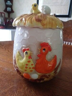 Chicken Family Cookie Jar