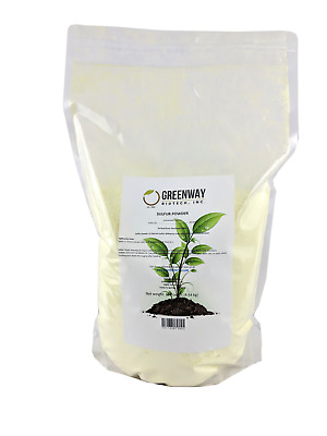 Sulfur Powder Micronized +99.8% Pure Insects and Snakes Repellent 10 Pounds