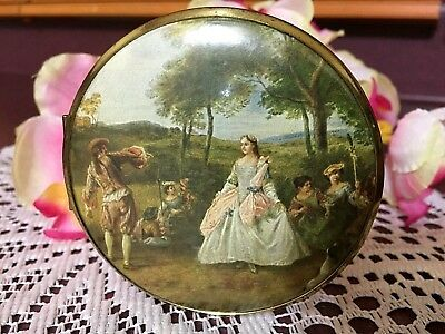 Vintage Made In Western Germany Double Sided Compact Mirror