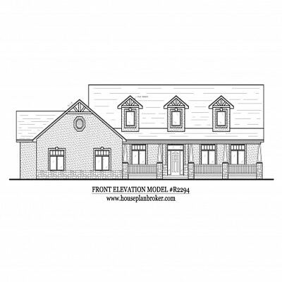 Custom set of House plans - choose any plan - 1 2 3 4 5 bedroom bath car garage