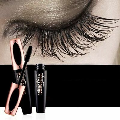 4D Silk Fiber Lash Mascara Makeup Mascara Eyelash Waterproof Curling Lengthening