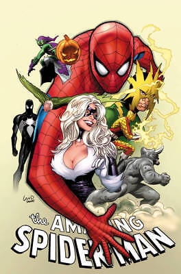 THE AMAZING SPIDER-MAN #1 Greg Land Party Variant Comic Marvel NM First Print