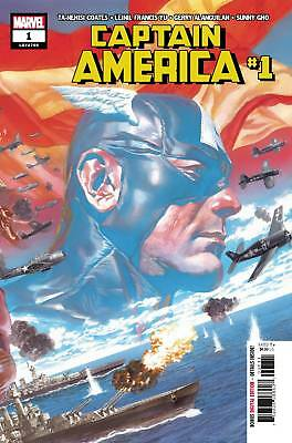 CAPTAIN AMERICA #1 Alex Ross Main Cover NM First Print 2018 Marvel Comic Book