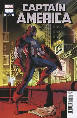 CAPTAIN AMERICA #1 Zeck Variant NM First Print 2018 Marvel Comic Book