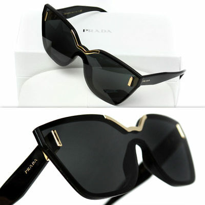 29ee10778e $460 PRADA LADIES BLACK CINEMA HIDE SUNGLASSES
