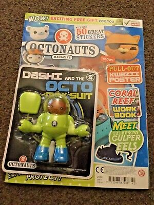 OCTONAUTS MAGAZINE ISSUE 42 WITH Dashi and the OCTO SUIT