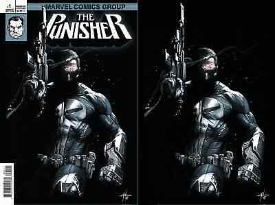 Punisher 1 V11 2018 Gabrielle Dell Otto Igc 2 Pack Virgin & Texted Variant Nm