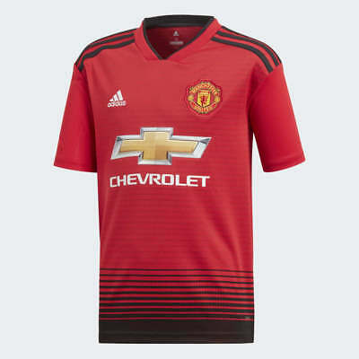 Manchester United Home  Shirt 2018/2019  *** GENUINE  ***