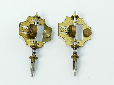 2 Vintage Governor Clock Fans For Jauch Clock Movements- Parts- Ri45