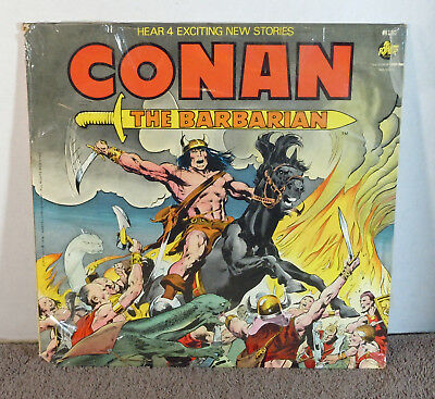 Conan The Barbarian Marvel Record 1976 Factory Sealed