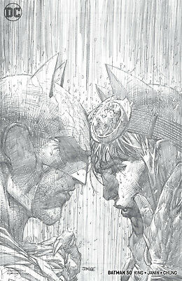 Batman #50 1:100 Jim Lee Pencils Variant Cover 7/4/18