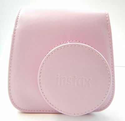 Fujifilm Groovy Camera Case for Instax Mini 8 PINK PU Leather