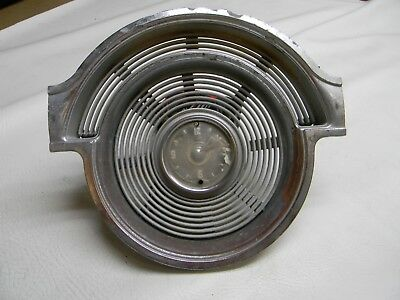 1953 OLDSMOBILE 88 98 FIESTA Used Clock and Chrome Dash Bezel Assy # 562348