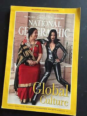 National Geographic - August, 1999 Back Issue - Vol. 196, No. 2