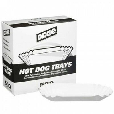 Dixie Hot Dog Trays 20cm ./500 ct.. Shipping is Free