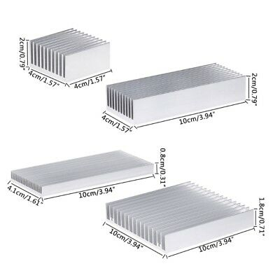 Extruded Aluminum Heatsink For High Power LED Chip IC Cooler Radiator Heat Sink