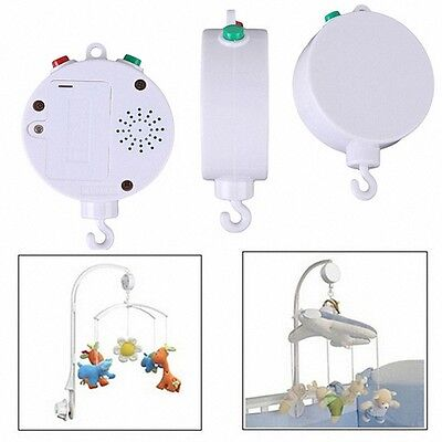 Nursery New Songs Rotary Baby Mobile Crib Bed Toy Music Box Movement Bell LOVELY