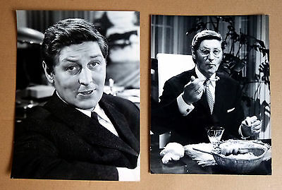 GÜNTER PFITZMANN * 2 TV-PRESSEFOTOS div. Grösse PHOTOS VINTAGE ´60er