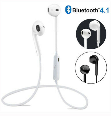 Bluetooth Headset Wireless Sport Stereo Headphones Earphone Earbuds With Mic