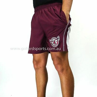 Manly Sea Eagles Core Training Shorts (Adults + Kids Sizes) *BNWT*
