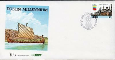Ireland 1988 The 1000th Anniversary of the City of Dublin FDC