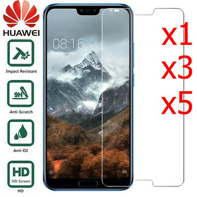 TEMPERED GLASS SCREEN PROTECTOR COVER FOR HUAWEI Honor 9 / P20 Pro /LITE /P9 P10