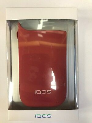 """IQOS COLORED SLEEVE """"RED"""" cover per IQOS """"ROSSO"""""""