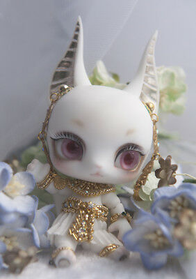 1/12 Anubis fantasy resin figures little bjd baby doll Palm dolls toys gifts
