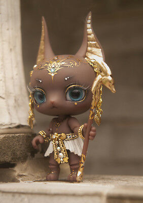 1/12 Anubis fantasy doll Brown skin little bjd baby doll Palm dolls toys gifts