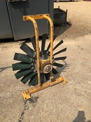 INGERSOLL RAND AIR COMPRESSOR FAN AND MOUNTING 16 BLADE 870mm wide INC VAT