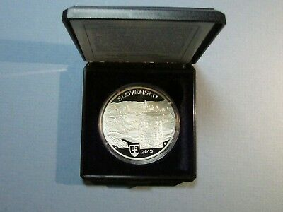 2013 Slovakia Slovak Rep 20 Euro City of Culture Kosice Silver Proof Coin Czech