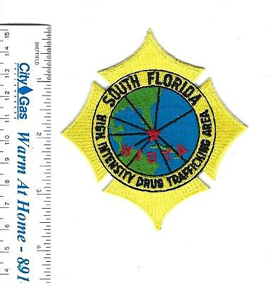SOUTH FLORIDA FL High Intensity Drug Trafficking Area HIDTA patch - NEW!
