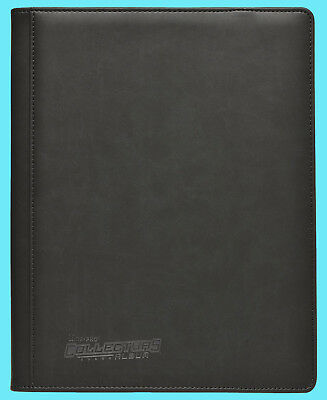 ULTRA PRO 9 POCKET EXECUTIVE SPORTS COLLECTORS BLACK BINDER 20 Pages 180 Card