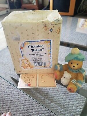 Cherished Teddies Figurines Set of 6 January through June: Heavenly Paws Rescue
