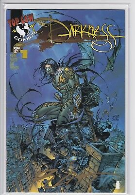 Darkness #1 (Signed by Silvestri and Batt with COA) Dynamic Forces DF variant