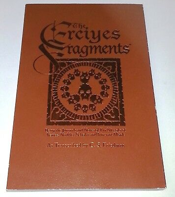 THE ERCIYES FRAGMENTS  (White Wolf 1999 ~ Vampire Dark Ages World of Darkness)