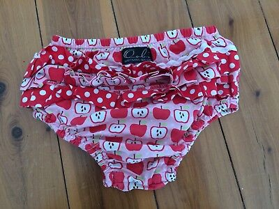 Oobi baby nappy cover girls FREE POSTAGE size 1,2