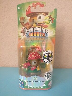 Skylanders Giants SHROOMBOOM Light Up Activision Lightcore NEW